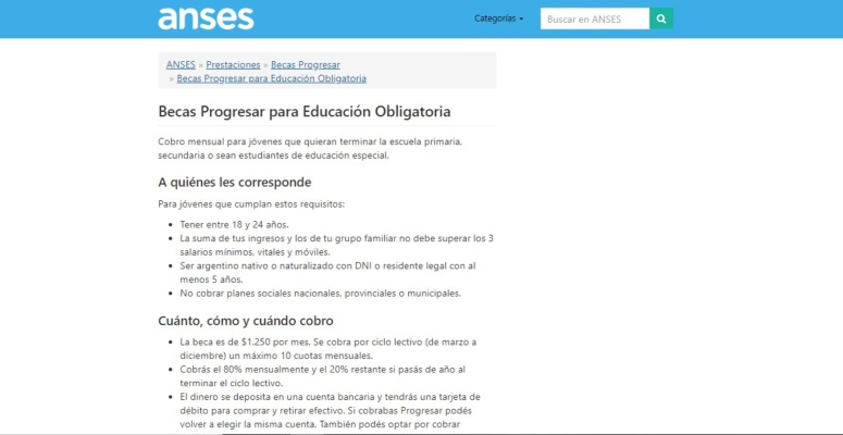 educacion obligatoria