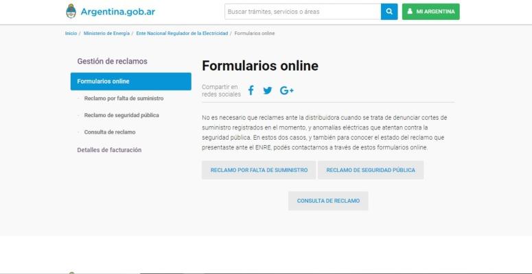formulario online