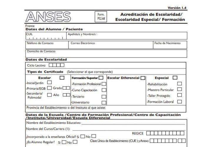 ¿Cómo completar el formulario 2.68