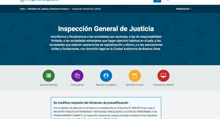 Cómo solicitar turnos en la IGJ • Requisitos y pasos para hacer la petición