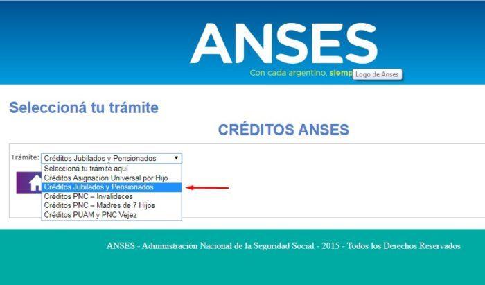 Créditos para pensionados y jubilados