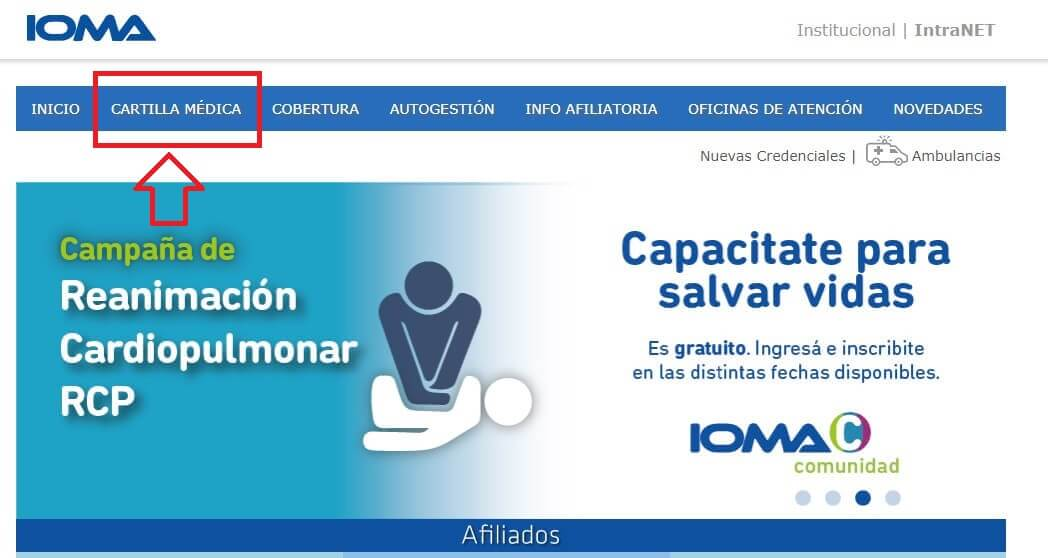 IOMA Cartilla Médica