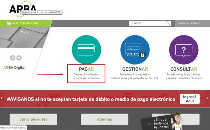 Paga tu patente vía online