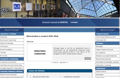 Rentas en Tucumán • Cómo solicitar boletas de pago y trámites que se deben cancelar